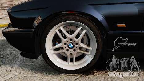 BMW M5 E34 für GTA 4 Innenansicht