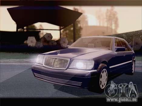 Mercedes-Benz S600 V12 V1.2 pour GTA San Andreas vue de droite