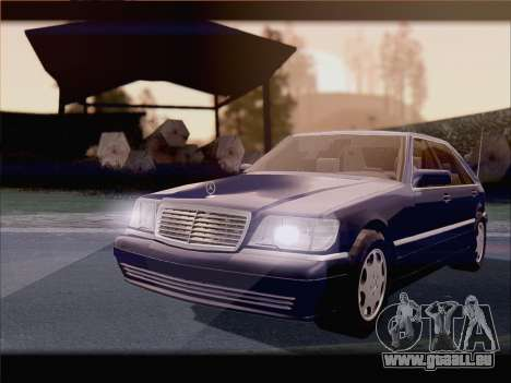 Mercedes-Benz S600 V12 V1.2 für GTA San Andreas rechten Ansicht