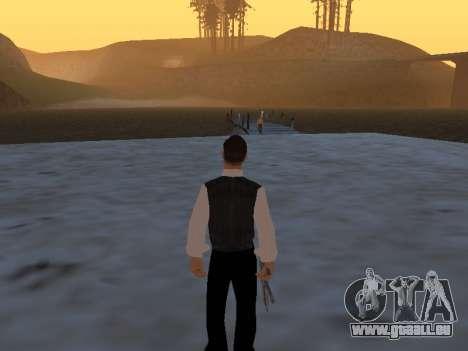 Un mythe à propos du pêcheur pour GTA San Andreas deuxième écran