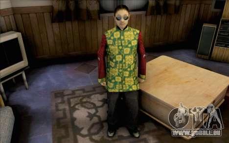 Mec asiatique pour GTA San Andreas