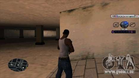 C-HUD Cesar Weezy pour GTA San Andreas deuxième écran