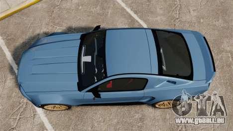 Ford Mustang GT 2013 Widebody NFS Edition für GTA 4 rechte Ansicht