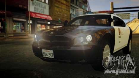 Dodge Charger LAPD 2008 für GTA 4
