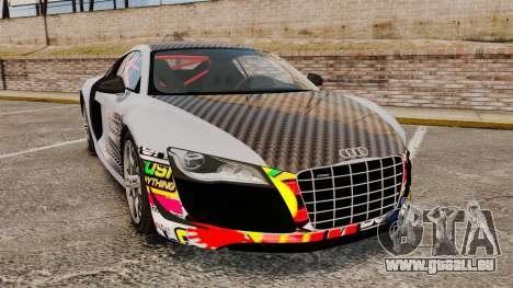 Audi R8 GT Coupe 2011 Drift für GTA 4