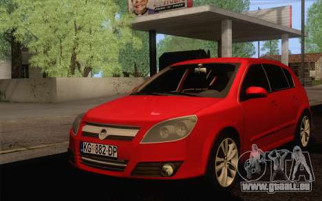 Opel Astra H pour GTA San Andreas