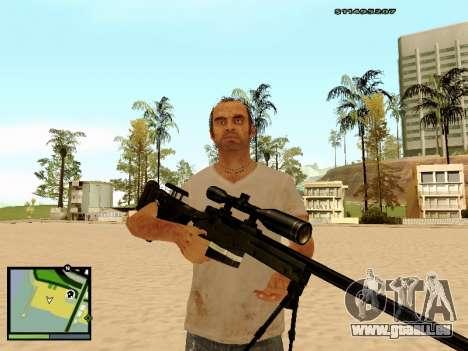 L115A3 Sniper Rifle für GTA San Andreas her Screenshot