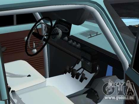 Moskvich 412-Rallye für GTA San Andreas rechten Ansicht