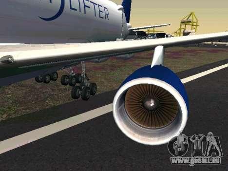 Boeing-747 Dream Lifter pour GTA San Andreas laissé vue