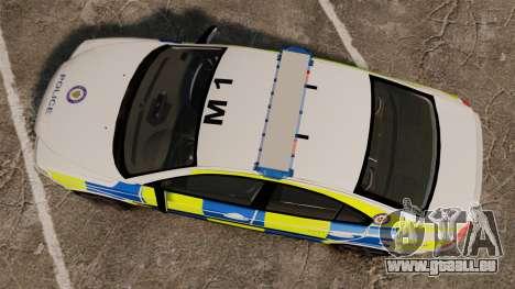 Volvo S60R Police [ELS] für GTA 4 rechte Ansicht