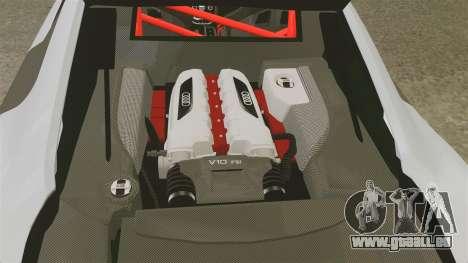 Audi R8 GT Coupe 2011 Drift pour GTA 4 est un côté