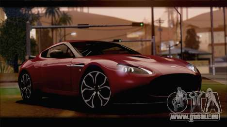 Aston Martin V12 Zagato 2012 [HQLM] für GTA San Andreas