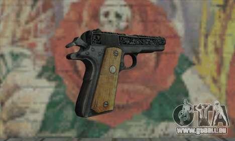 Colt 45 out of The Darkness 2 für GTA San Andreas zweiten Screenshot