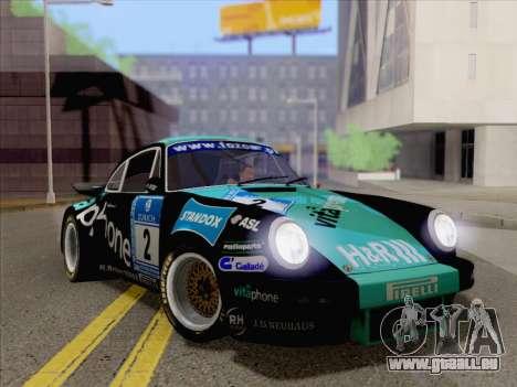 Porsche 911 RSR 3.3 skinpack 2 für GTA San Andreas rechten Ansicht