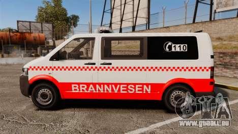 Volkswagen Transporter T5 2010 [ELS] für GTA 4 linke Ansicht