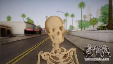 Squelette pour GTA San Andreas troisième écran