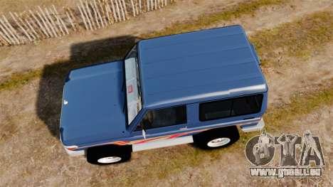 Toyota Land Cruiser 70 2013 pour GTA 4 est un droit