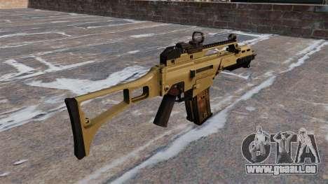 Fusil d'assaut HK G36C tactique pour GTA 4 secondes d'écran