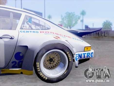 Porsche 911 RSR 3.3 skinpack 1 pour GTA San Andreas vue de côté