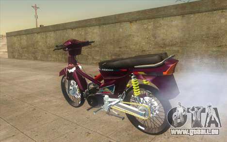 Honda Dream 100 VietNam für GTA San Andreas linke Ansicht