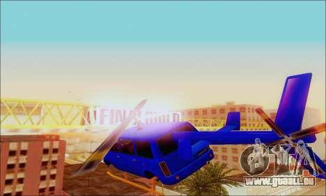 Fun Maverick pour GTA San Andreas vue de droite