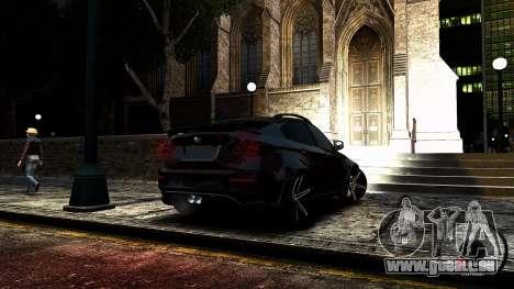 BMW X6 M Hamann 2013 Vossen für GTA 4 Seitenansicht