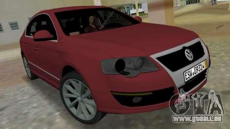 Volkswagen Passat 2007 für GTA Vice City