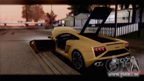 Lamborghini Gallardo LP560-4 Coupe 2013 V1.0 pour GTA San Andreas roue