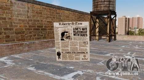 Cocktail Molotow-Zeitung - für GTA 4