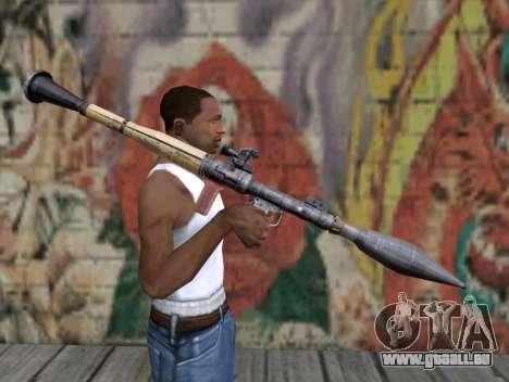 Raketenwerfer von Stalker für GTA San Andreas dritten Screenshot