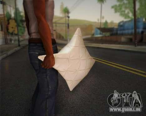 Oreiller pour GTA San Andreas troisième écran