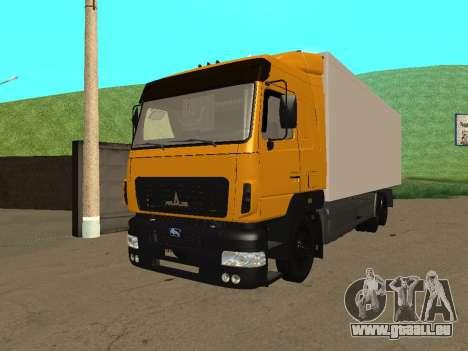 MAZ 6312A8 pour GTA San Andreas