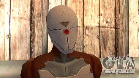 Renard gris pour GTA San Andreas troisième écran