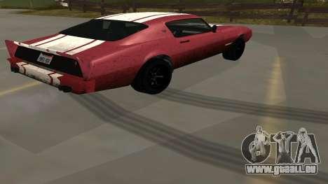 Phoenix de GTA V pour GTA San Andreas laissé vue