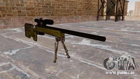 Fusil de sniper M40A3 pour GTA 4
