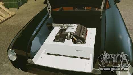Ford Forty Nine Concept 2001 Police [ELS] pour GTA 4 est une vue de l'intérieur