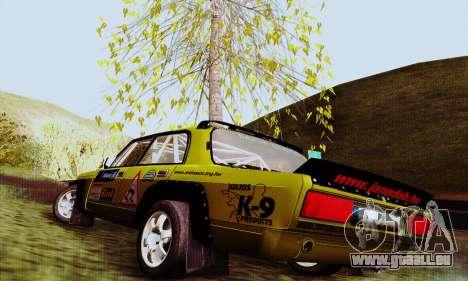 Lada 2105 VFTS pour GTA San Andreas laissé vue