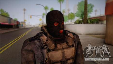 Un mercenaire de t. s. a. l. k. e. R pour GTA San Andreas troisième écran
