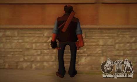 Haut-Scharfschützen von Team Fortress 2 für GTA San Andreas zweiten Screenshot