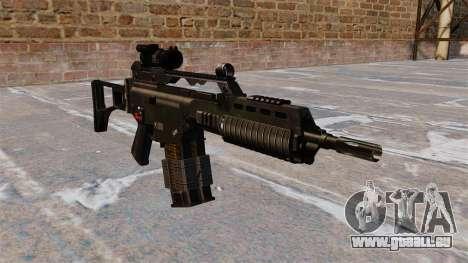 Fusil d'assaut HK G36k pour GTA 4