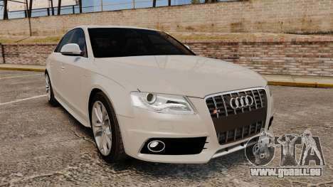 Audi S4 2010 pour GTA 4