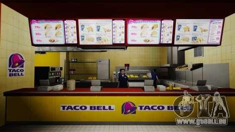 Manger McDonald ' s et Taco Bell pour GTA 4 sixième écran