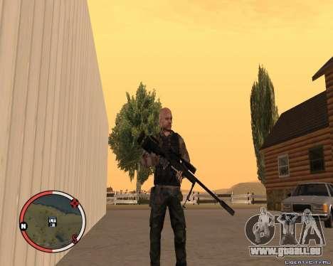 L115A3 Sniper Rifle für GTA San Andreas zweiten Screenshot