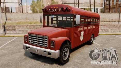 GTA IV TLAD Prison Bus pour GTA 4
