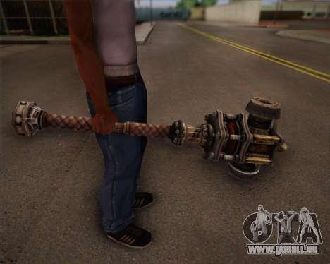 Mutant bat de Fallout 3 pour GTA San Andreas quatrième écran