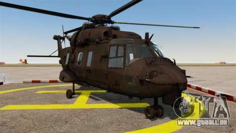 Eurocopter NHIndustries NH90 [EPM] pour GTA 4