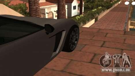 Carbonizzare de GTA 5 pour GTA San Andreas vue arrière