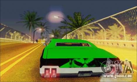 Modified Sabre Low für GTA San Andreas rechten Ansicht