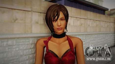Ada Wong pour GTA San Andreas troisième écran