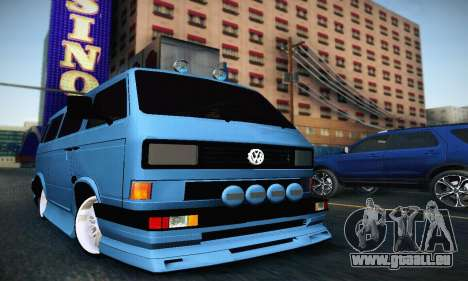 Volkswagen Transporter T2 Tuning pour GTA San Andreas